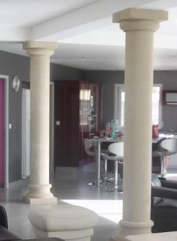 d co colonne b ton en effet pierre. Black Bedroom Furniture Sets. Home Design Ideas
