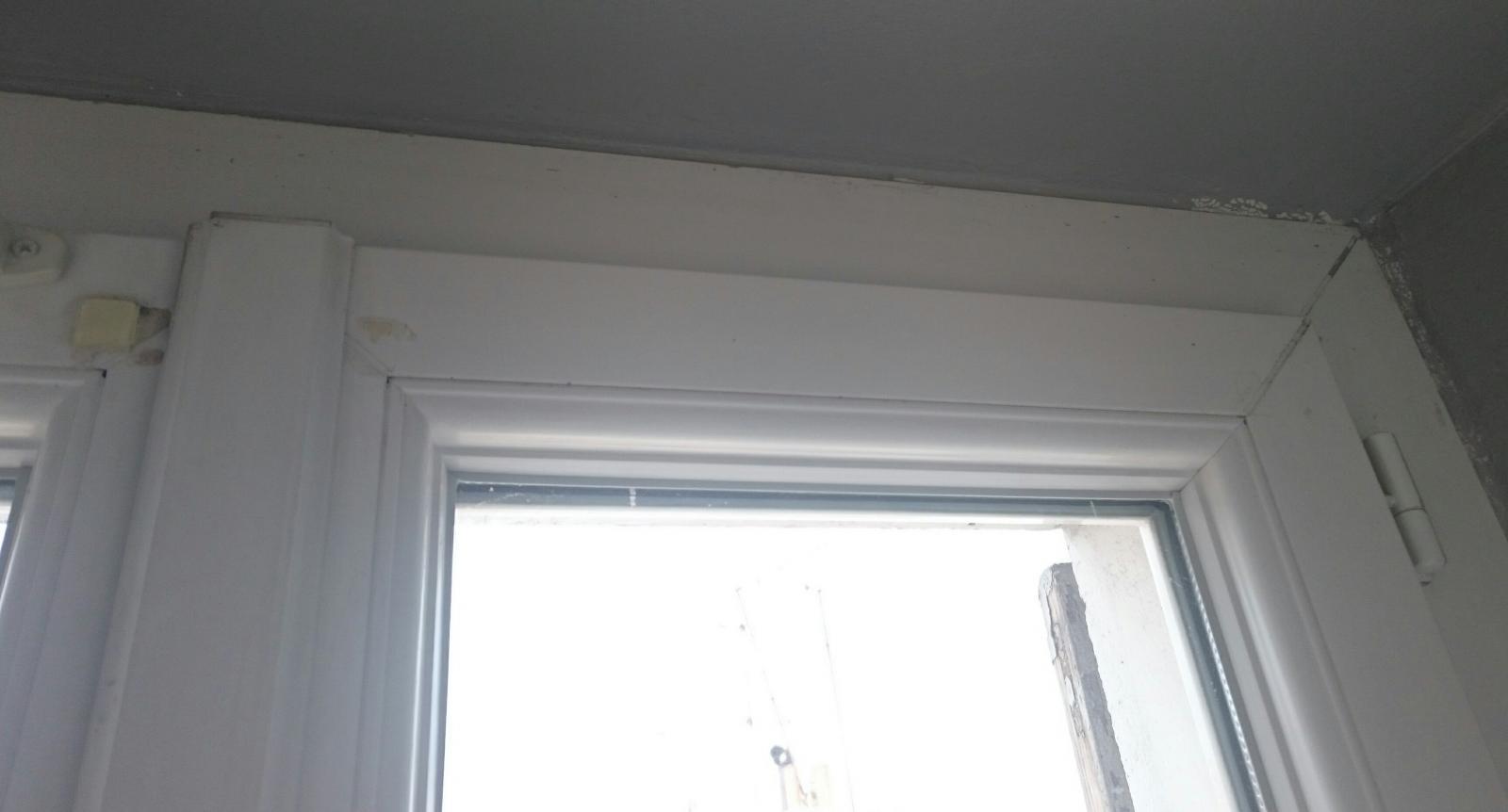 Fenêtre pvc ne se ferme pas en haut