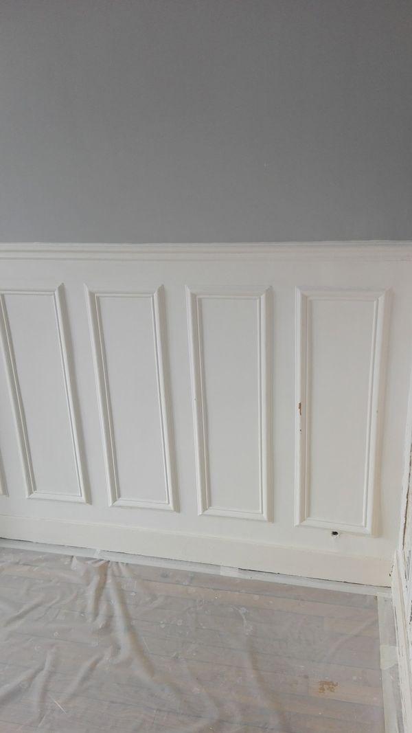 pr parer des boiseries murales avant peinture. Black Bedroom Furniture Sets. Home Design Ideas
