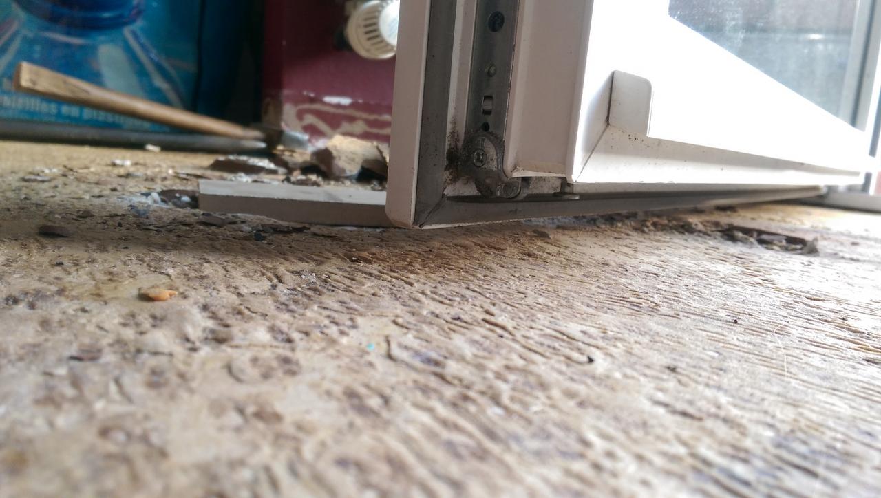 Carrelage Sol Moche Que Faire problème pose parquet stratifié et porte fenêtre