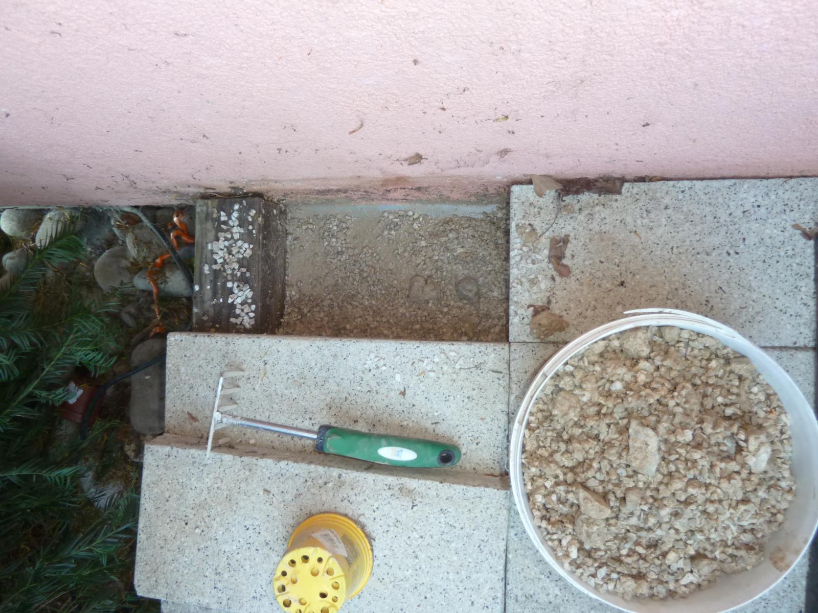 Infiltration d 39 eau dans le sous sol provenant de la terrasse - Infiltration sous sol maison ...