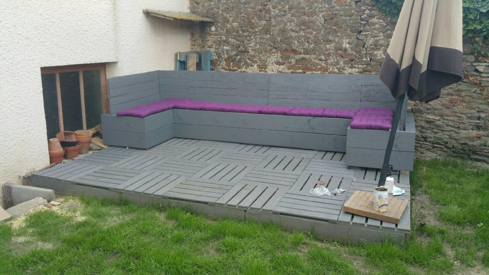Stunning Construction Salon De Jardin Palette Contemporary ...