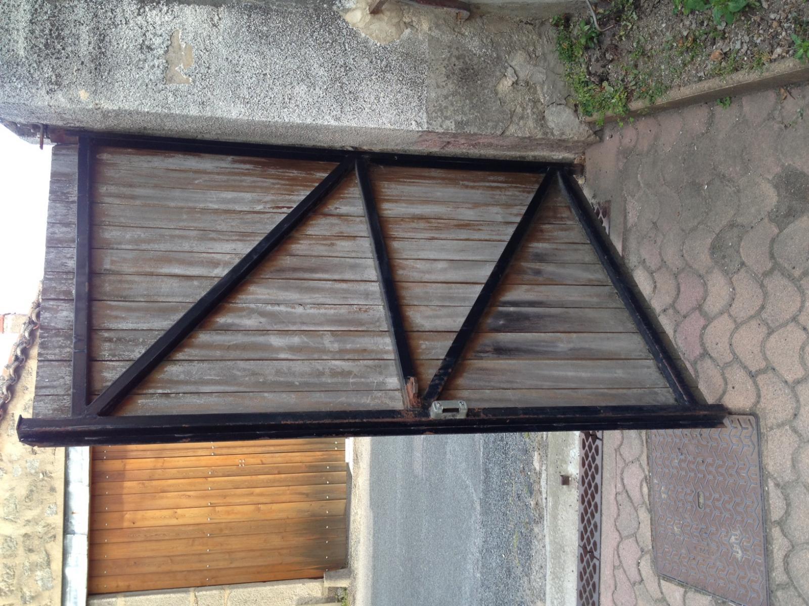 motoriser un portail avec une cote 39 39 c 39 39 sup rieur 300mm. Black Bedroom Furniture Sets. Home Design Ideas