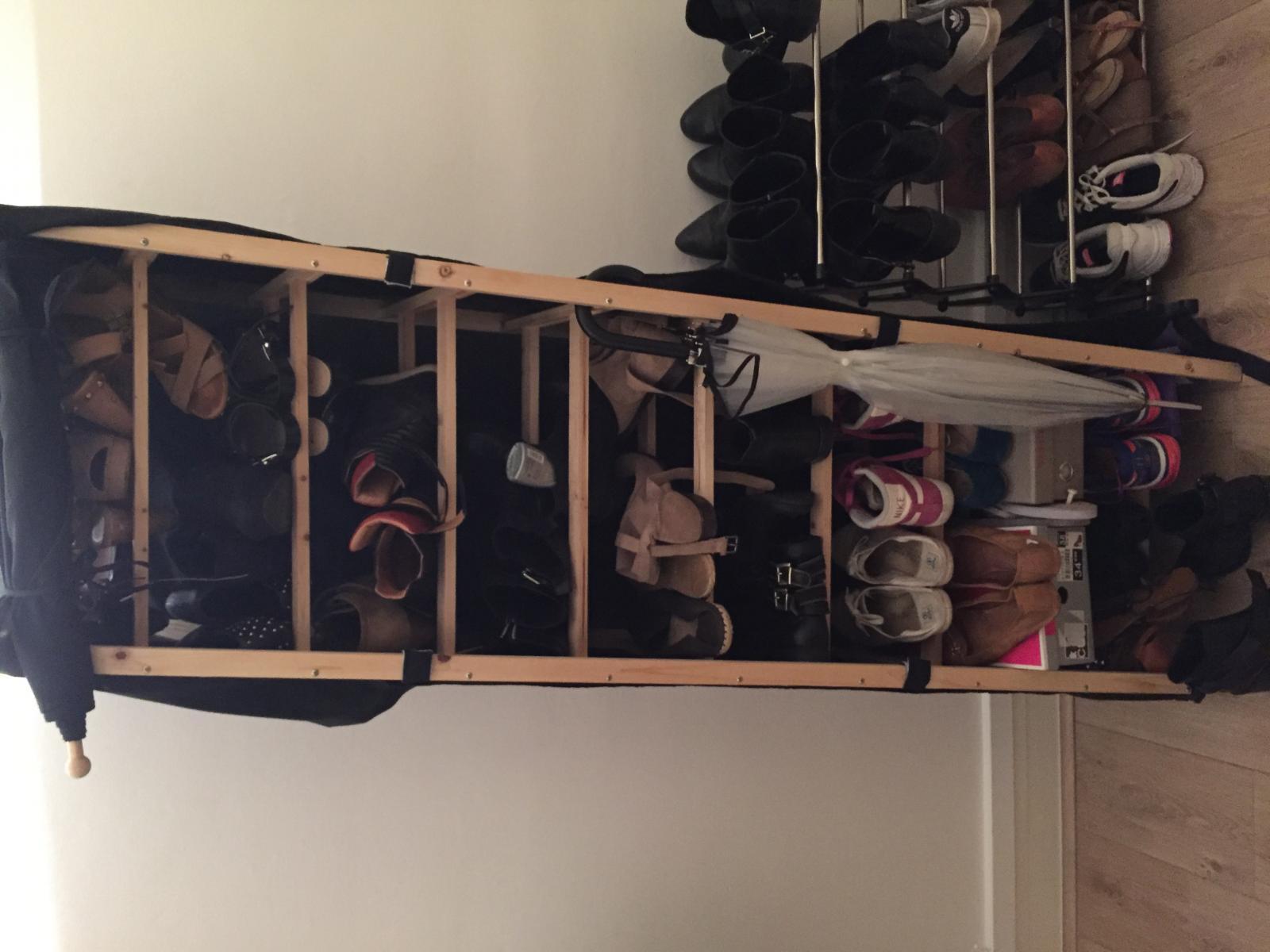 Idée bricolage rangement chaussures