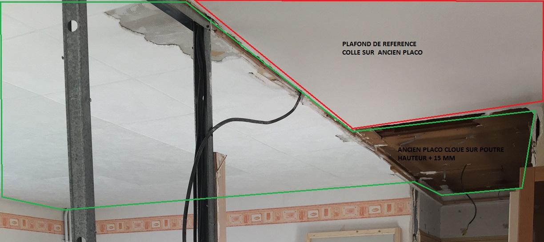 Plafond placo sans rail - Plafond d epargne retraite non utilise ...
