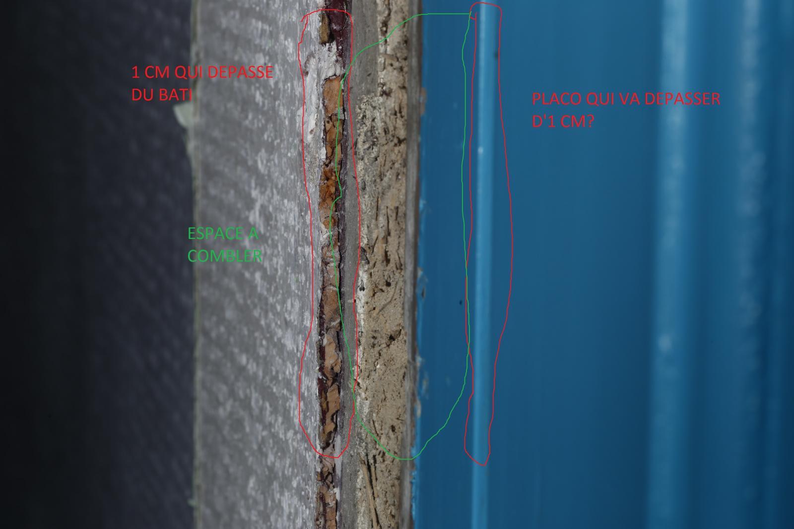 Remplacer Une Porte Par Du Placo remplacer porte par du placo