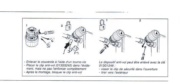 Tte De Robinet Danfoss  Enlever Ergot Scurit