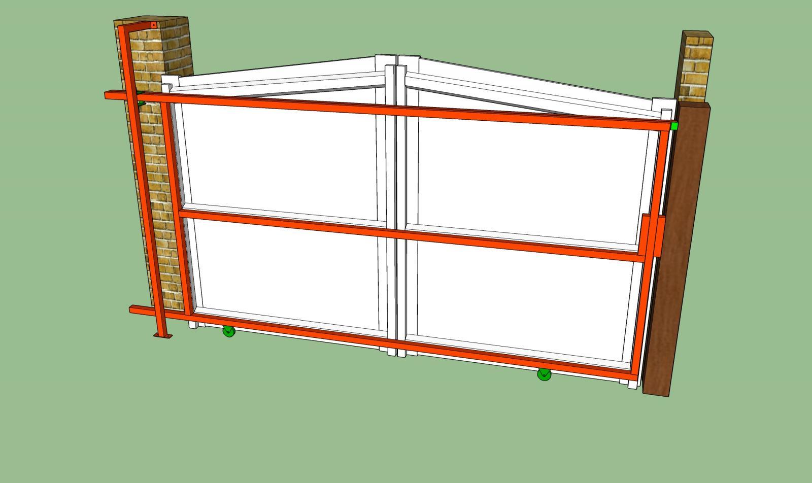 modification portail pvc battant en portail coulissant. Black Bedroom Furniture Sets. Home Design Ideas