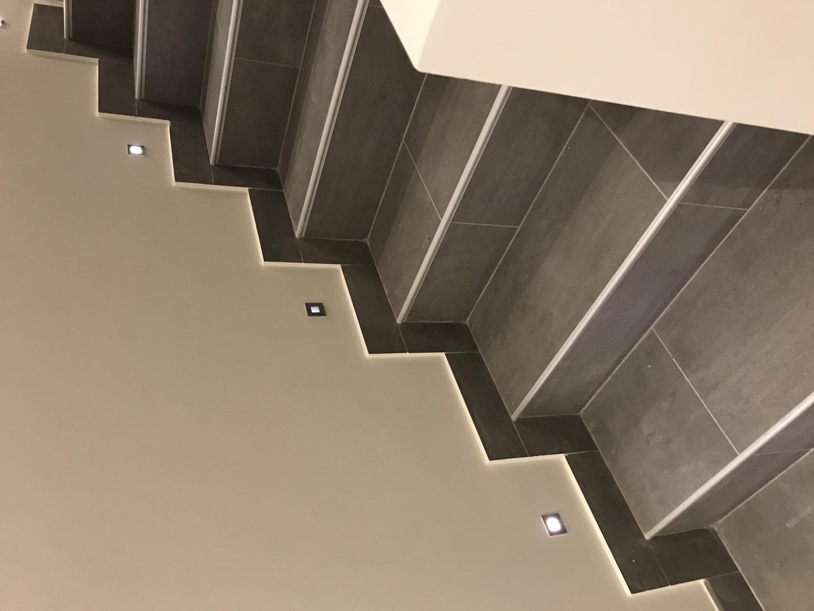 Probleme Mini Spots Escalier