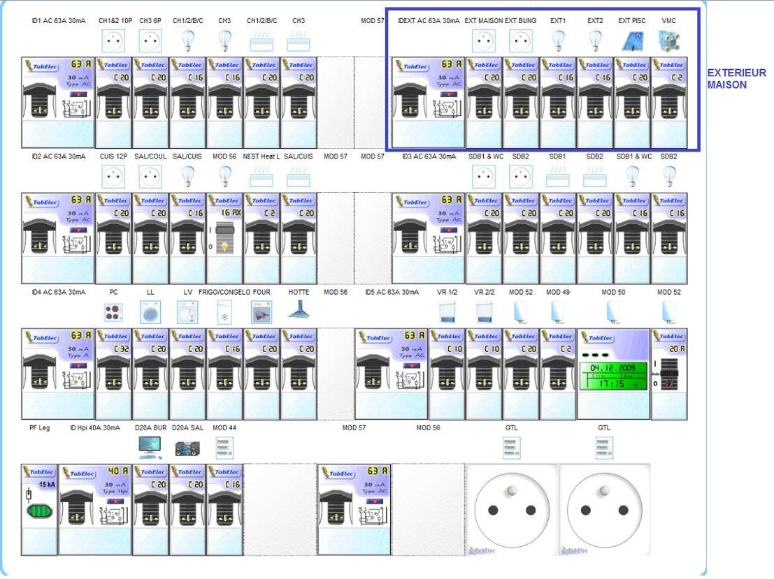 Schema Tableau Electrique Maison 120m2 | Ventana Blog