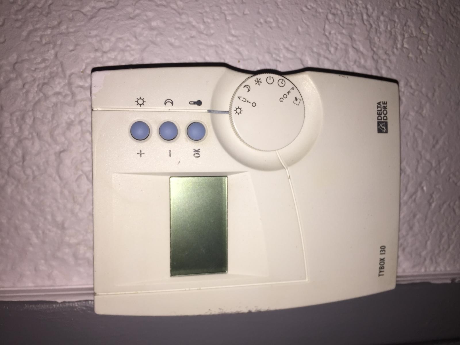 Thermostat radiateurs lectriques - Thermostat radiateur electrique ...