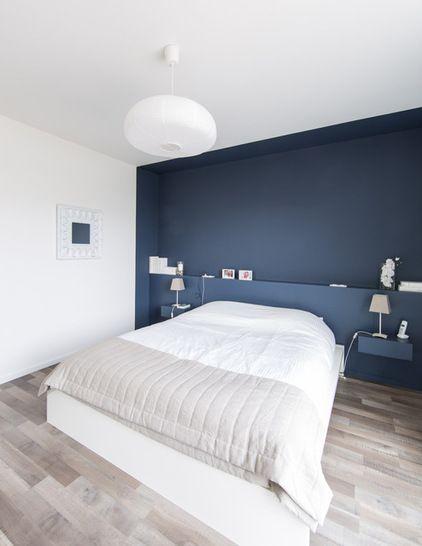 peindre fonc 2 murs oppos s. Black Bedroom Furniture Sets. Home Design Ideas