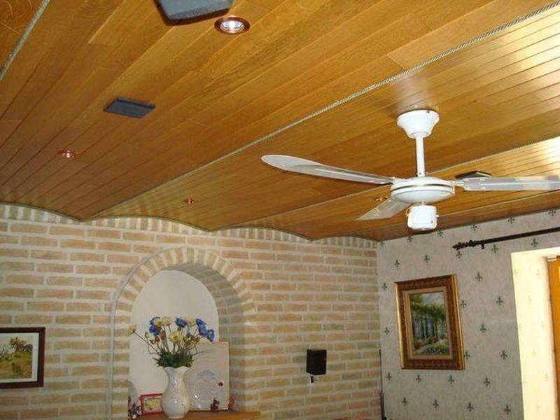 Plafond Lambri Ou Placo