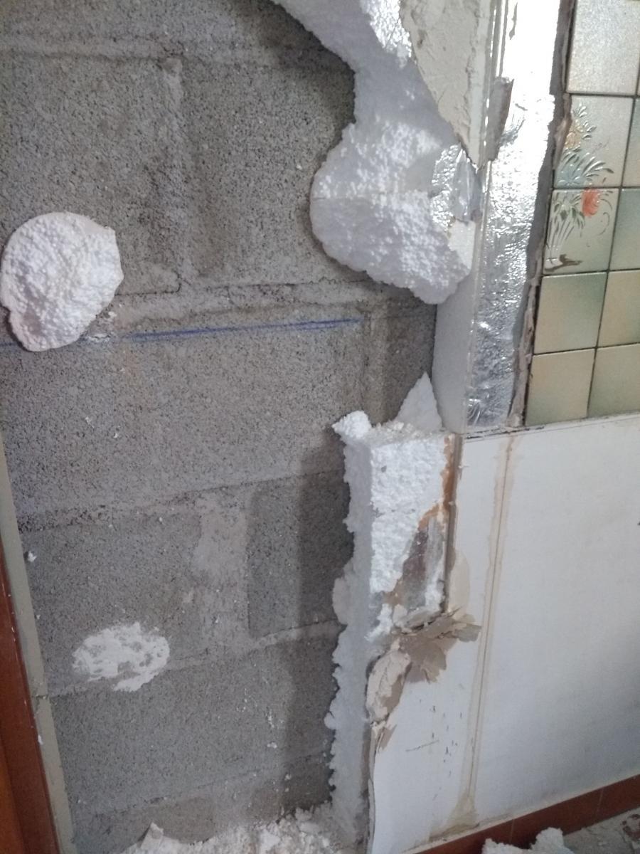 Comment Enlever Faience Sur Placo retirer faïence sur plaques de plâtre doublées polystyrène
