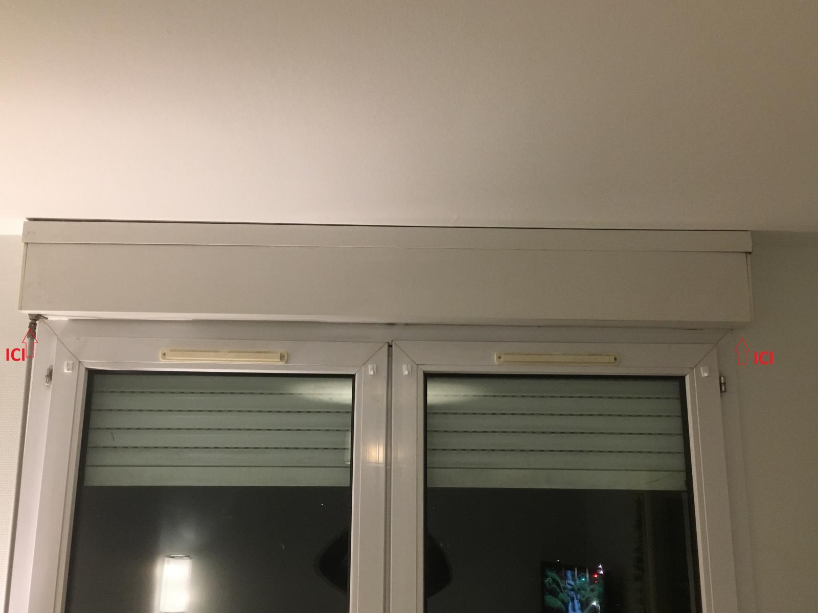 Poser Des Tringles À Rideaux Avec Coffre Volet Roulant fixer des supports de tringle à rideaux sur du placo