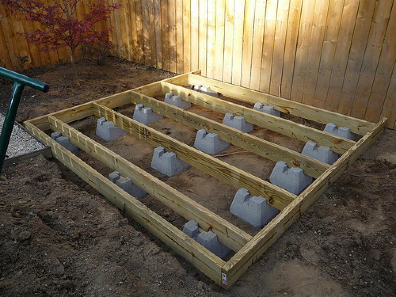 Terrasse en bois ras du sol 10x10 deck plans