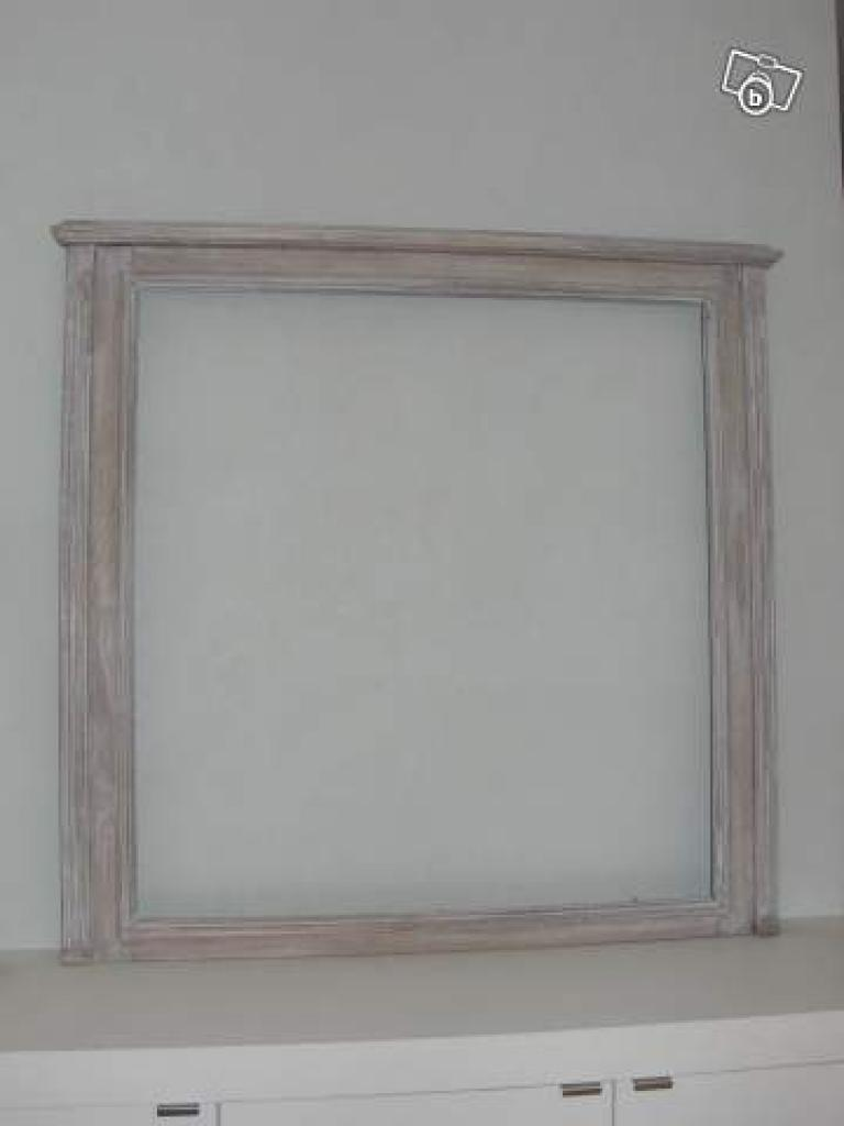 Faire un miroir encadr for Couper un miroir