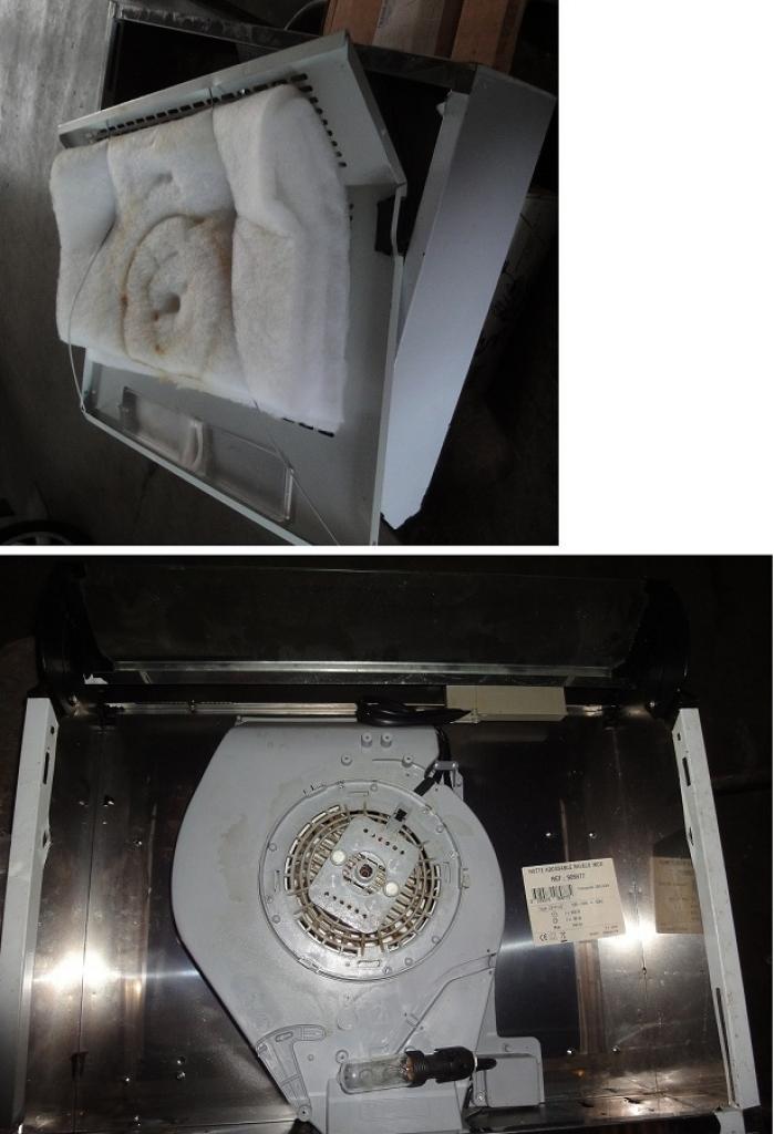 Hotte mettre en mode filtrage recyclage - Comment mettre un filtre a charbon sur une hotte ...