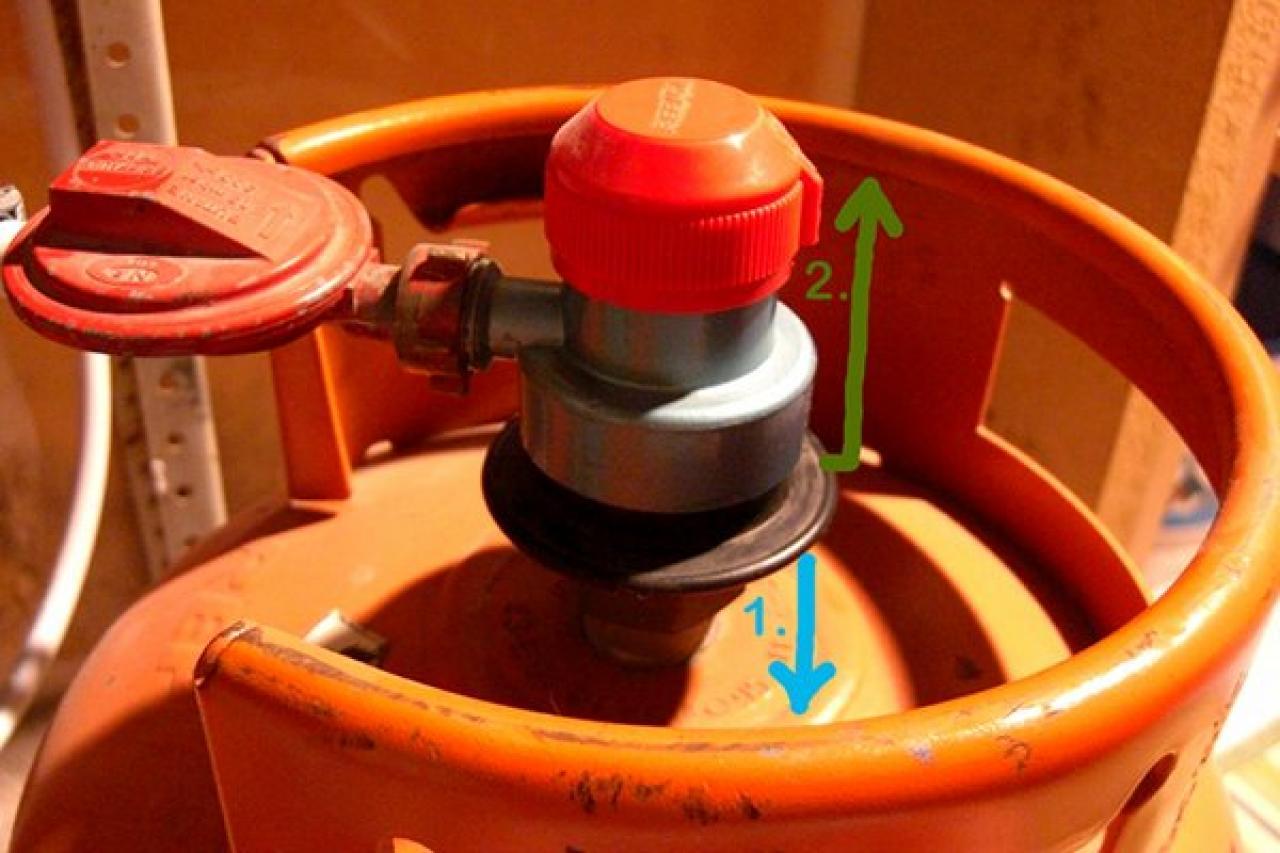 Changer bouteille de gaz butane repsol - Detendeur bouteille de gaz ...