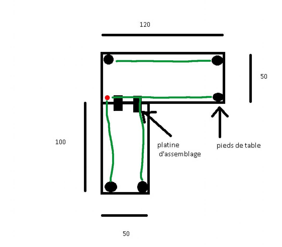 Debutant aide pour fabriquer bureau d 39 angle - Fabriquer bureau d angle ...