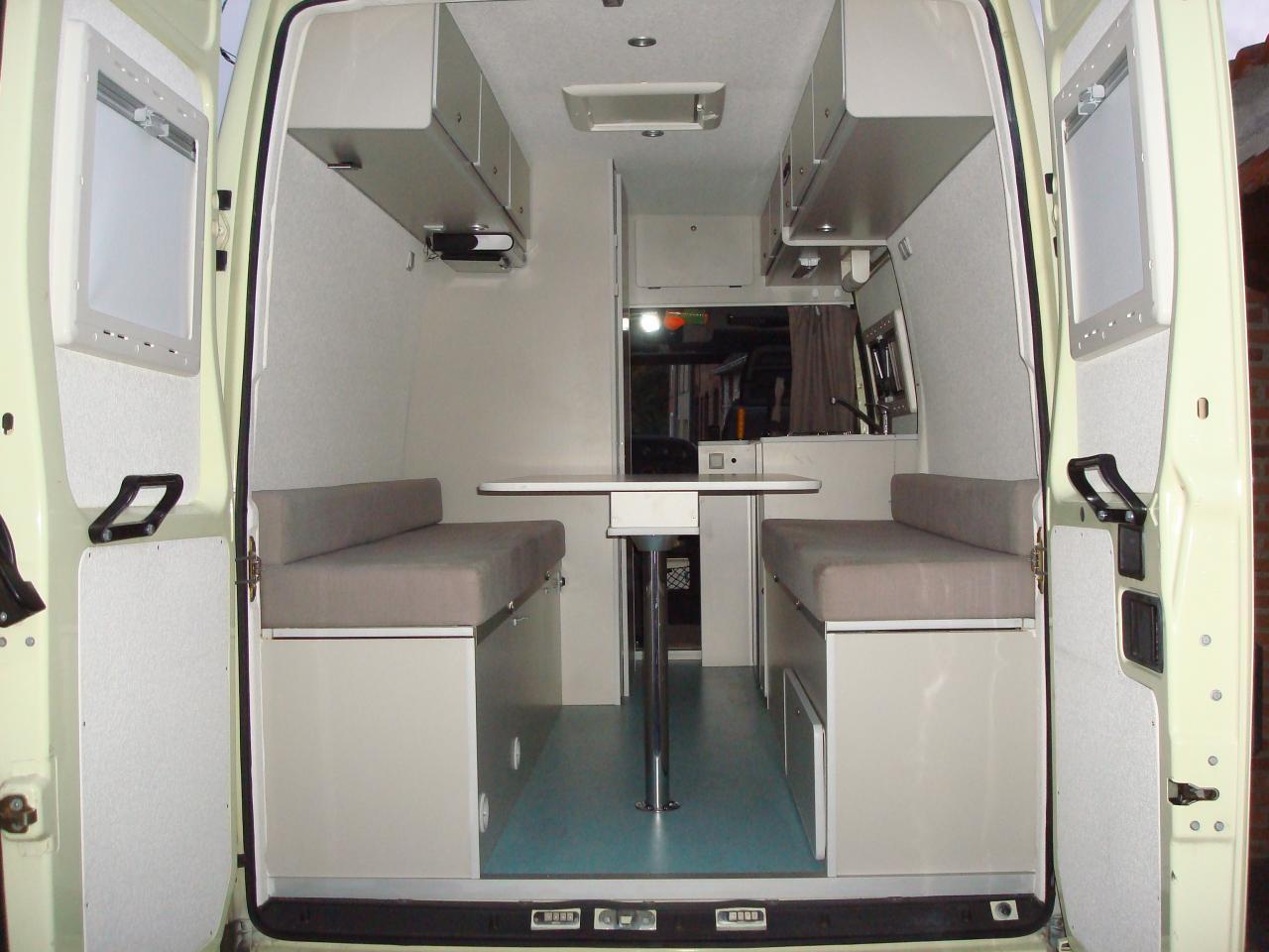 Extrêmement amenager un camion pour camping car UW45