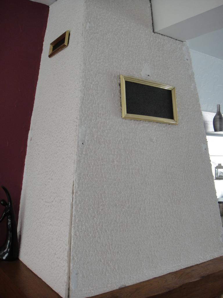 peinture pour hotte de chemine plaque isolante pour hotte. Black Bedroom Furniture Sets. Home Design Ideas
