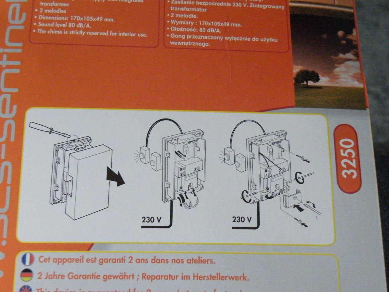 Schema installation sonnette filaire - Comment installer une sonnette filaire ...
