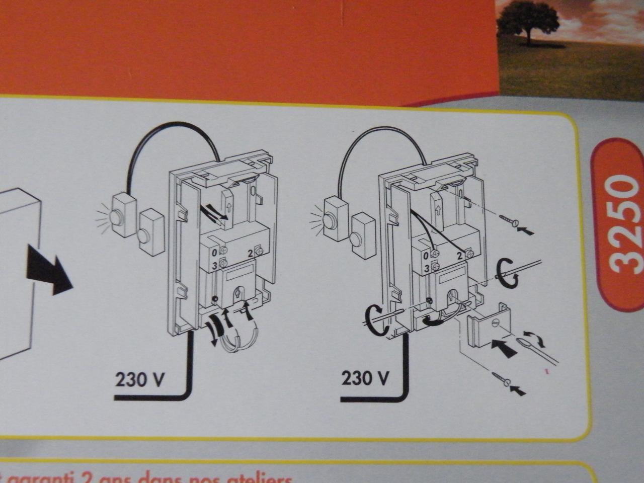 Carillon de porte filaire carillon porte filaire sur enperdresonlapin - Comment brancher une sonnette electrique ...