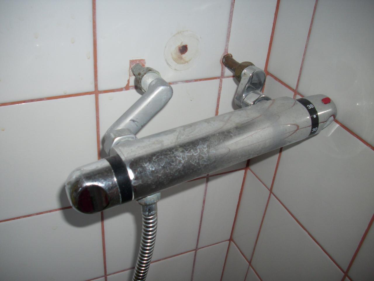 changer robinet de douche entraxe 110 par mitigeur avec entraxe 150 - Changer Le Robinet D Une Baignoire