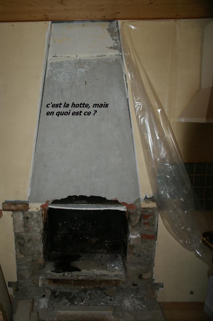 demontage cheminée