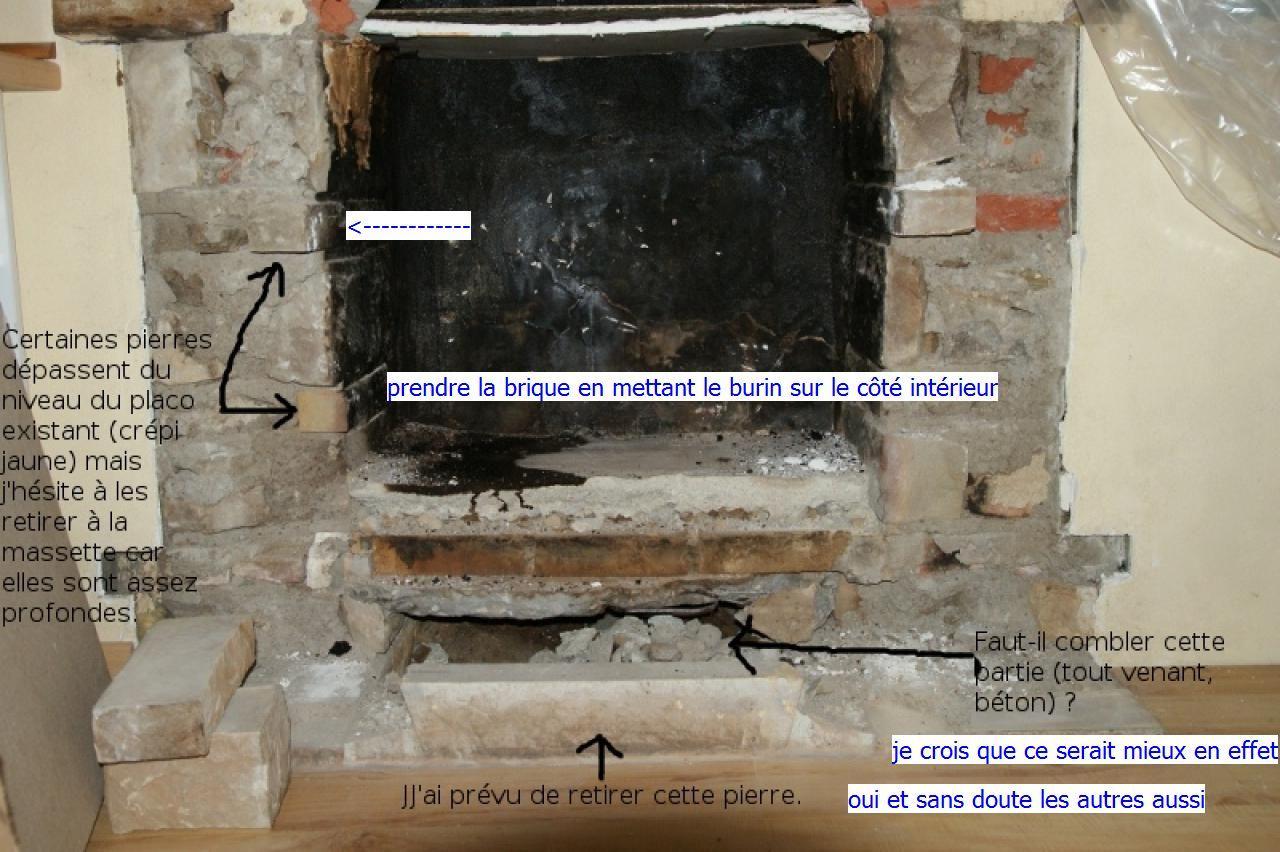 Demontage chemin e - Comment enlever une cheminee ...