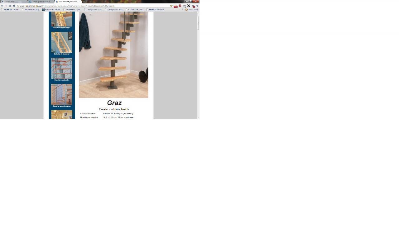 Refaire Escalier Trop Raide escalier quart tournant haut