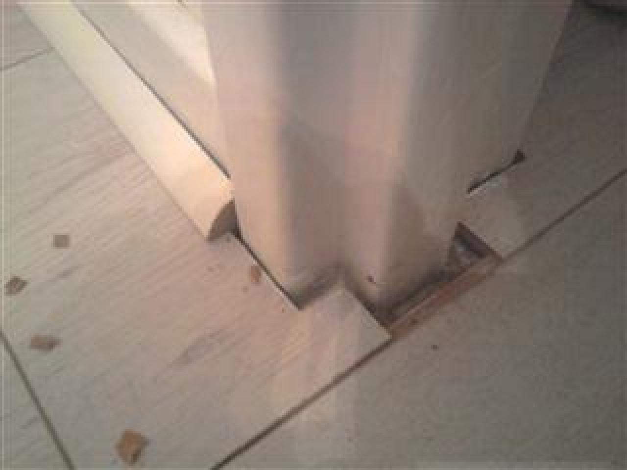 Poser Un Quart De Rond Carrelage problème de quarts de rond et de portes