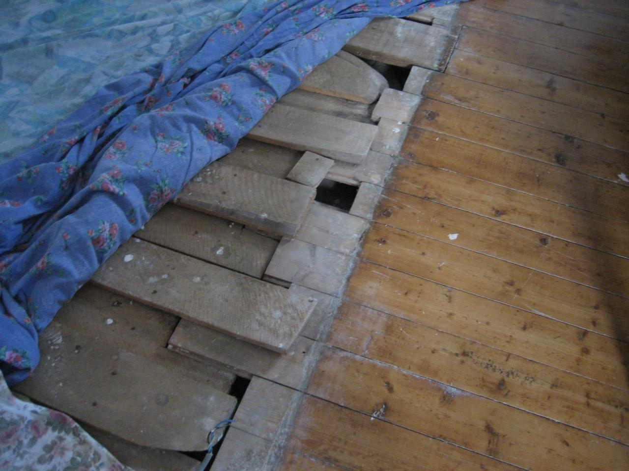 Faire un plancher for Comment vitrifier un plancher