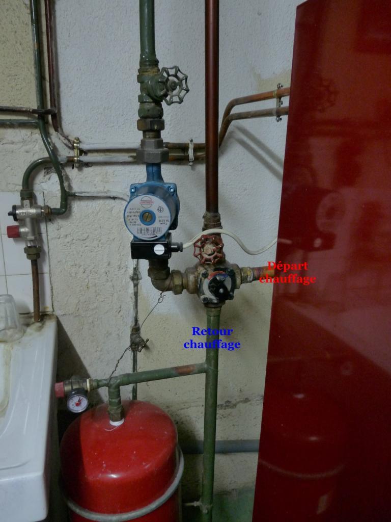 Changement vanne 3 4 voies eau chaffage for Vanne vidange chauffe eau