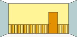 Les diff rents types de pose de lambris for Pose d un lambris mural horizontal