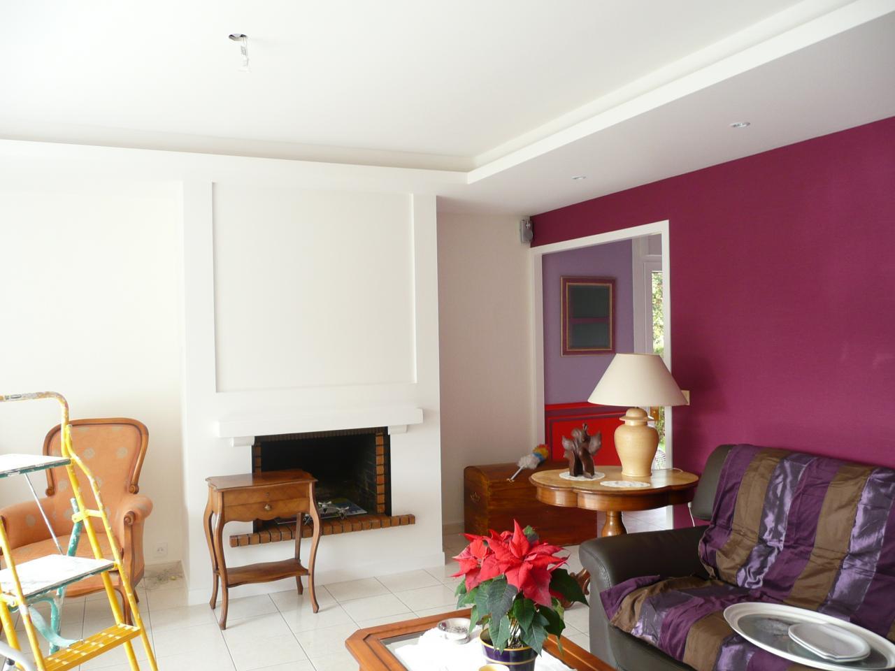 r nover une chemin e. Black Bedroom Furniture Sets. Home Design Ideas