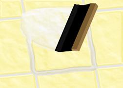 Changer un carreau de carrelage cass - Reparer un carreau de carrelage casse ...