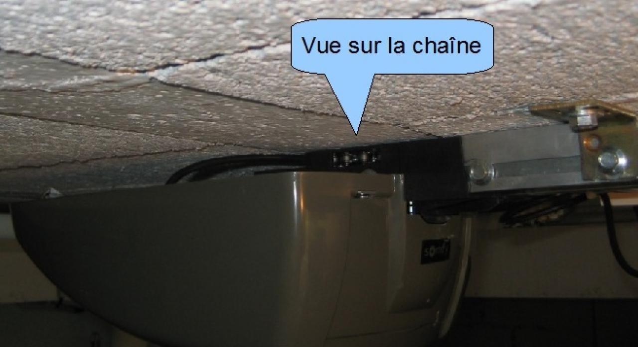 Motorisation porte sectionnelle - Moteur de porte de garage sectionnelle ...