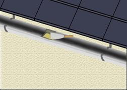 colmater les fuites d 39 une goutti re. Black Bedroom Furniture Sets. Home Design Ideas