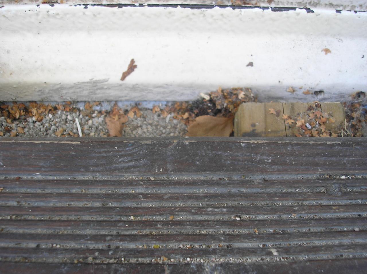 Probleme Terrasse Infiltration D Eau