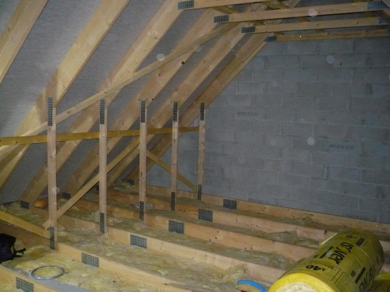 Renforcer un plancher - Comment faire un plancher bois dans un garage ...
