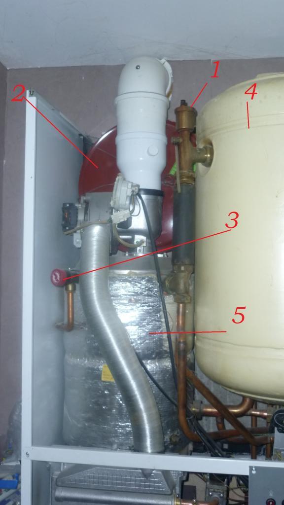 Probleme de pression sur chaudiere hydroconfort frsquet for Probleme d eau chaude