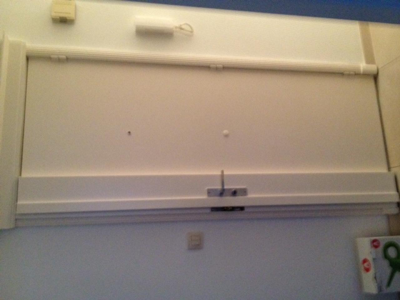 Comment d monter la clenche int rieure d 39 une porte blind e fichet - Enlever une porte interieure ...