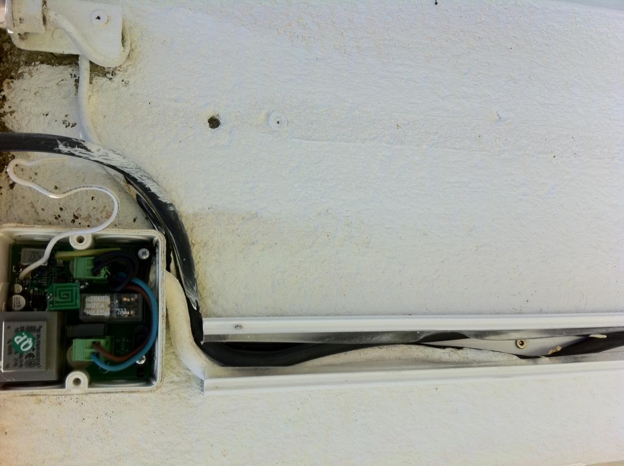 Eclairage ext rieur t l commander brancher sur portail for Eclairage exterieur electrique