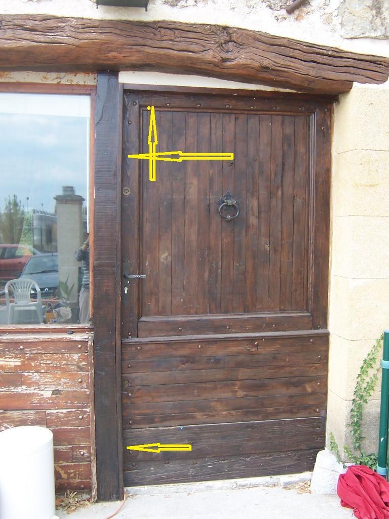 Am liorer isolation d 39 une porte en bois - Porte de bois ...