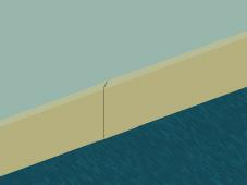 Poser des plinthes nonomichto for Decoupe plinthe angle