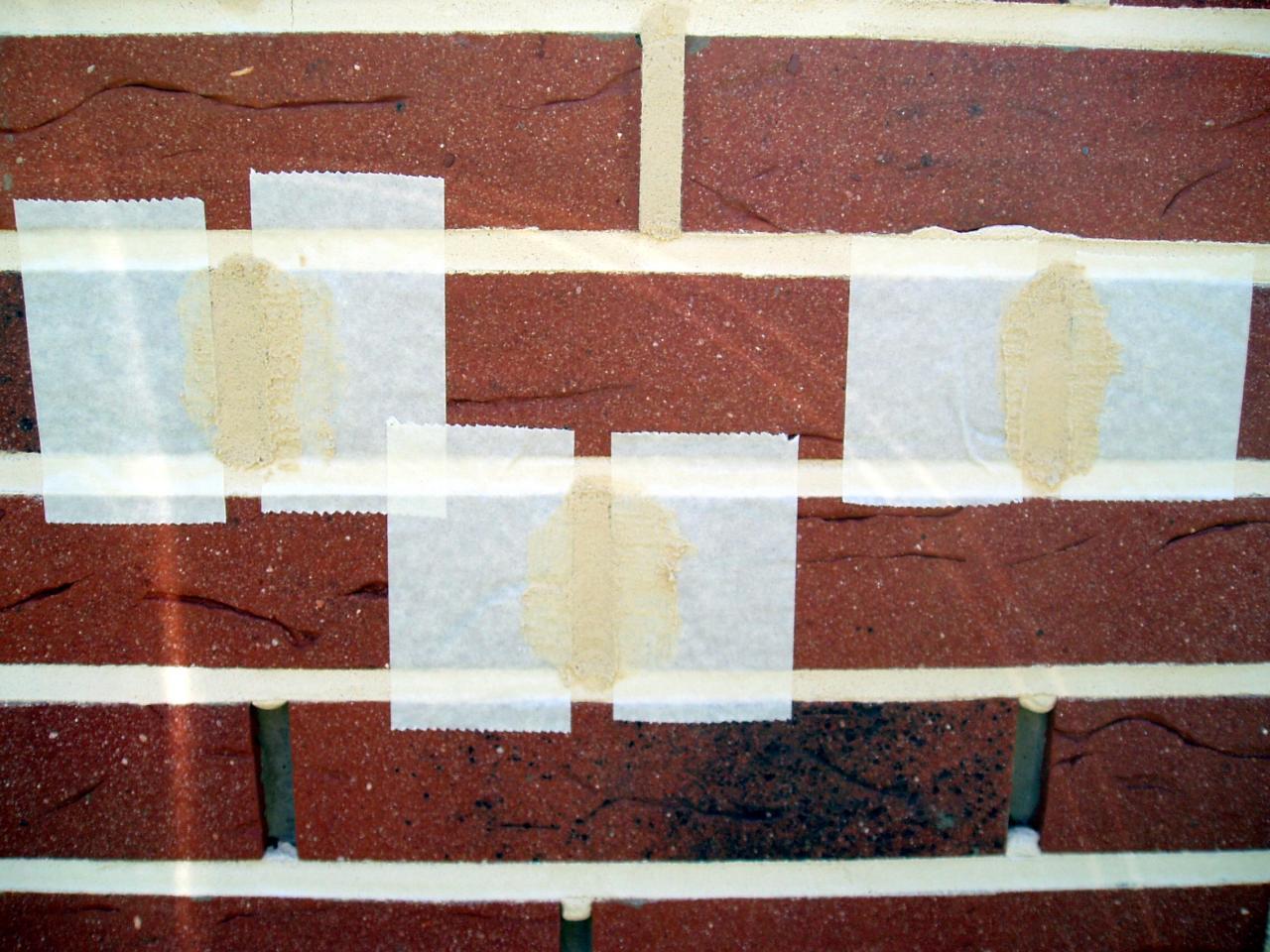 Joint pour briques de parement