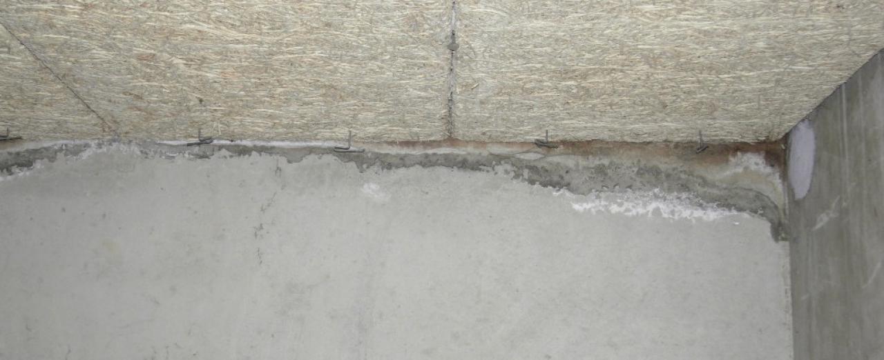 Trace d 39 humidit dans un garage au sous sol for Probleme humidite garage