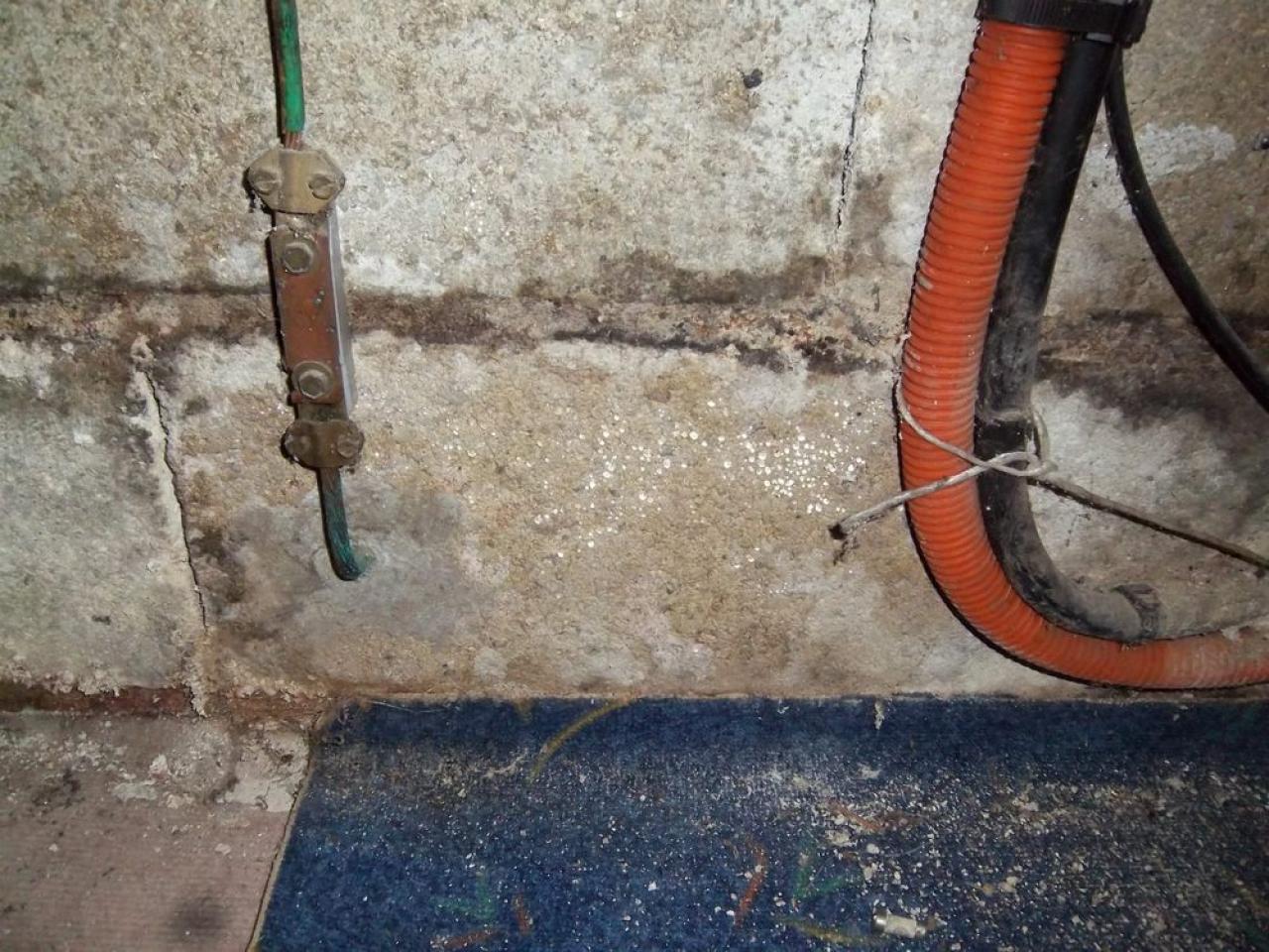 Humidité sur mur de sous sol enterré